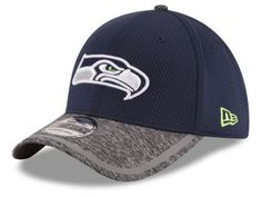 Seattle Seahawks 2016 New Era Navy Sideline Hat - Fitted (S M 7acfcfb63