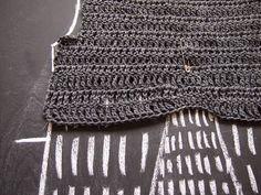 VMSomⒶ KOPPA Crochet One Piece, Crochet Top, Drape Cardigan, Crochet Clothes, Knitting, Pattern, Eye Circles, Crafts, Fashion