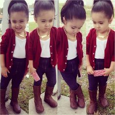 New Baby Girl Fashion Outfits Stylish Kids Jackets Ideas Little Girl Outfits, Cute Outfits For Kids, Little Girl Fashion, Toddler Outfits, Toddler Dress, Kids Outfits Girls, Fashion Kids, Toddler Fashion, Baby Kind