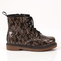 Girls Lace Boot