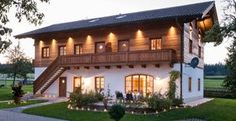 Wimmerhof holiday on a farm in Chiemgau - Bavaria - Apartments Chiems . - Wimmerhof holiday on a farm in Chiemgau – Bavaria – Apartments Chiemsee - Chalet Design, House Design, Swiss House, Farm Holidays, Contemporary Home Furniture, Swiss Chalet, Rustic Apartment, Live In Style, Forest House