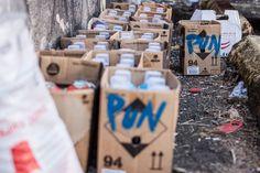 Pun18 spray cans