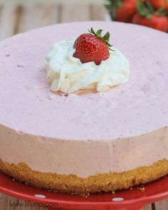 Strawberry Freezecake
