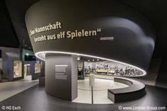 The German Football Museum tells the stories of titles, events and emotions connected to the argueably most popular sport on earth. Wrapped in sophisticated architecture, this building acknowldges the efforts of Bundesliga professionals and hobby players alike.  Lindner was involved in the construction and contributed works at a value of over 3.5 Mio Euros to the interior fit-out. They include hollow floors, diverse high-quality dry construction works and steel works.
