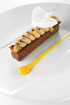 Agrumes chocolat. Création Franck Michel