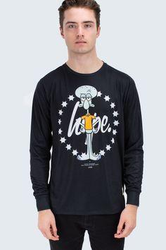 HYPE X SQUIDWARD LONGSLEEVE T-SHIRT - HYPE®