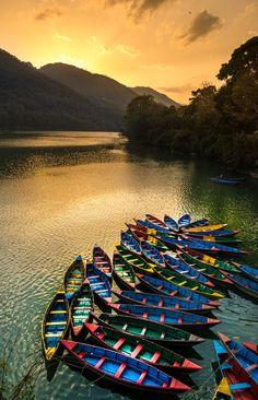 L〰Fewa Lake, Pokhara, Nepal by Harsh Kumar - Photo 204393007 / 500px