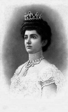 HM Queen Elena of Italy (1873-1952) née Her Royal Highness Princess Elena of Montenegro