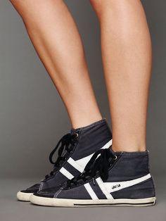 Gola Retro Classic Hi Top Sneaker  http://www.freepeople.com/whats-new/retro-classic-hi-top-sneaker/
