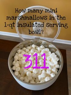 Pampered Chef Party, Pampered Chef Recipes, Guessing Games, Mini Marshmallows, Serving Bowls, Online Games, Cooking, Breakfast, Blessings
