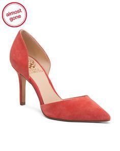 b2da1babc45a7d Suede Dress Heels - Heels - T.J.Maxx
