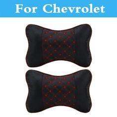 Automobiles & Motorcycles 2pcs Car Neck Pillow Perforating Design Pu Leather For Chevrolet Cruze Trax Aveo Lova Sail Epica Captiva Volt Camaro Cobalt