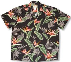 ce31b261 super-sale-bird-of-paradise-1-men-s-vintage-paradise-found-print-hawaiian -aloha-100-rayon-shirt-7.gif (700×613)