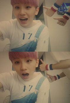 Woozi and then there's Hoshi's arms #woozi #hoshi
