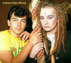 Jon Moss and Boy George