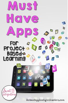 These are apps that I highly recommend when teaching a Project Based Learning unit. These can be used for any grade level for your driving questions, research, and presentations. Problem Based Learning, Inquiry Based Learning, Project Based Learning, Cooperative Learning, Technology Tools, Educational Technology, Instructional Technology, Instructional Strategies, Technology Integration