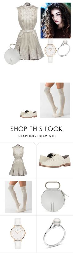 """""""Whiteout #2"""" by amory-eyre ❤ liked on Polyvore featuring Zimmermann, ED Ellen DeGeneres, Daytrip, 3.1 Phillip Lim and Daniel Wellington"""