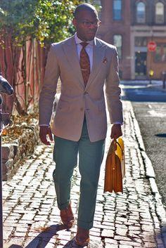 I love a smartly dressed man.
