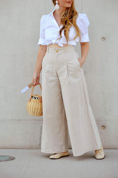 Cute Office Outfits, Trendy Summer Outfits, Stylish Dress Designs, Stylish Dresses, Curvy Outfits, Chic Outfits, Fashion Pants, Fashion Outfits, Baby Frocks Designs