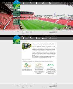 Layout site Greenleaf Gramados