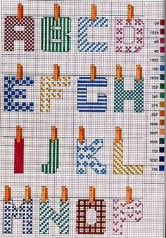cross stitch linen alphabet, part 1 Cross Stitch Alphabet Patterns, Embroidery Alphabet, Cross Stitch Letters, Cross Stitch Charts, Cross Stitch Designs, Stitch Patterns, Letter Patterns, Cross Stitching, Cross Stitch Embroidery