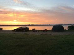 Zonsondergang veluwemeer