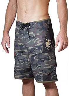 882ec8b541 Maui Rippers Mens Camo Boardshorts Green <3 View the item in details by  clicking