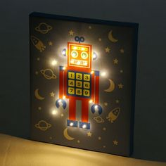 Robot LED Light available on Wysada.com