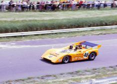 Dan Gurney - McLaren Chevrolet - McLaren Cars Ltd. - Can-Am Mont-Tremblant - Can-Am Mont-Tremblant - 1970 Canadian-American Challenge Cup, round 2 Indy Car Racing, Sports Car Racing, Indy Cars, Race Cars, Elkhart Lake, Bruce Mclaren, Dan Gurney, Mclaren Cars, Challenge Cup