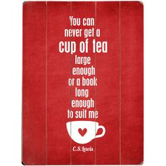 """This is SO fitting of us tea addicts at #skinauthority headquarters! """"You can never get a cup of tea large enough for a book long enough to suit me"""""""
