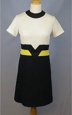60s mod dress by Toni Todd