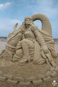 70 sculptures somptueuses qui élèvent les châteaux de sable au rang d'oeuvres d'art | #aaa #sandcastle www.aaa.com/travel