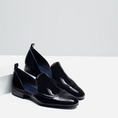 Image 3 of FLAT SHOES WITH OPENINGS from Zara