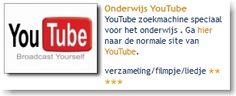 Onderwijs YouTube: YouTube zoekmachine speciaal voor het onderwijs . Ga hier naar de normale site van YouTube.