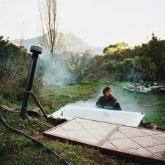 """'Scrublands'  by Antoine Bruy  Bruy travelled across a number of European mountain ranges, including the Carpathians and the Pyrenees, to document people who are trying to gain, in his words, """"greater energy, food, economic, or social autonomy."""""""