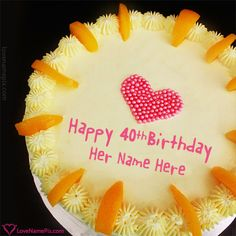 Cake Images With Name Kartik : Best Strawberry Cake For Boys Happy Birthday Wish With ...