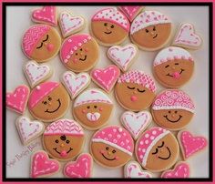 Inspired by:  http://www.mycandycrafts.com/Guest-Post-Baby-Shower-Cookies_b_15.html
