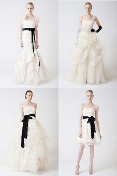 vera wang: wedding dresses