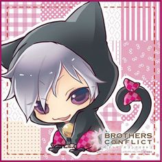 AmiAmi [Character & Hobby Shop] | Brothers Conflict - Hand Towel: Animal-ear Tsubaki(Released)