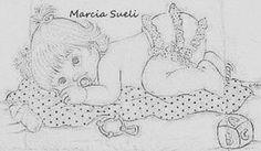 Ola, passando para trazer umas fofurices, para pintar enxoval de menina   As meninas da Querida Marcia Sueli,fazem o maior sucesso!   BjO*...