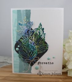 KarrenJ - Stamping Stuff: #breathe Fall Cards, Holiday Cards, Leaf Cards, Winter Sky, Stamping Tools, Distress Oxide Ink, Make Design, Tim Holtz, Autumn Leaves