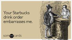 Oh lawd the fru-fru drinkers! Haha Funny, Hilarious, Lol, Funny Stuff, Funny Things, National Coffee Day Starbucks, Fru Fru, Coffee Humor, Humor