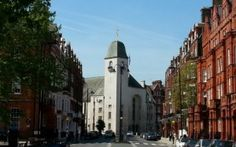 """St Columba's on Pont Street -- For the story """"New Traditions"""""""