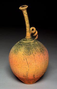 Nicholas Bernard | 'Stemmed Vessel' Ceramic Teapots, Glass Ceramic, Ceramic Clay, Pottery Vase, Ceramic Pottery, Coiled Pottery, Glass Painting Designs, Wood Sculpture, Ceramic Sculptures