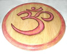 OM Offering plate by Earthsenergies on Etsy, $35.00