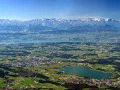 Zürichsee und Greifensee