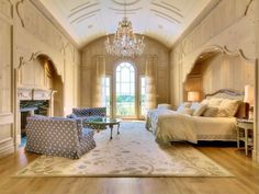 Traditional Master Bedroom.