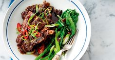 For a slow cooked Asian recipe, look no further than this beef short ribs recipe.