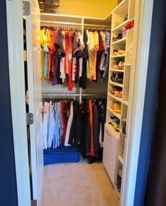 Small Walk In Closets Atlanta Closet U0026 Storage Solutions