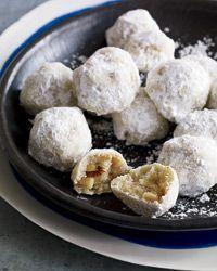 Walnut Snowball Cookies   Food & Wine
